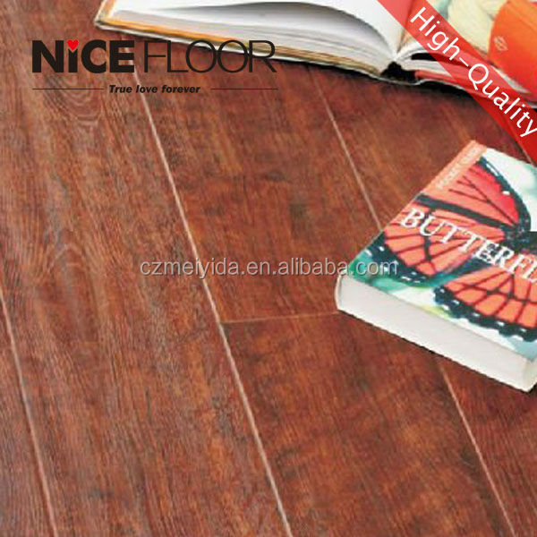 valinge click hand scraped laminate flooring 12mm with green core board