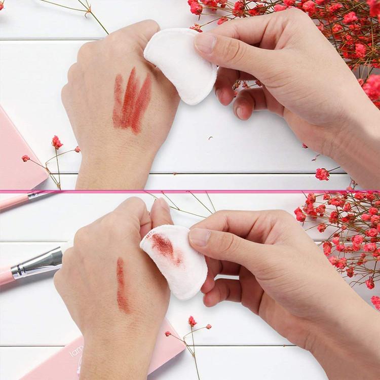 Sialia Dagelijkse Gezichtsreiniging Microfiber Herbruikbare Make-Up Gum Handdoek Make Up Remover Schoonheid Huid Doek