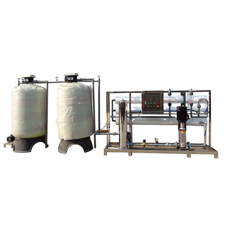 RO 6000LPH organic plant use water well water purifier treatment system