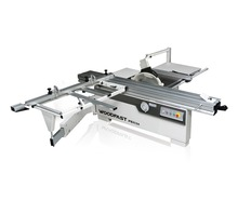 precision sliding table panel saw for woodworking