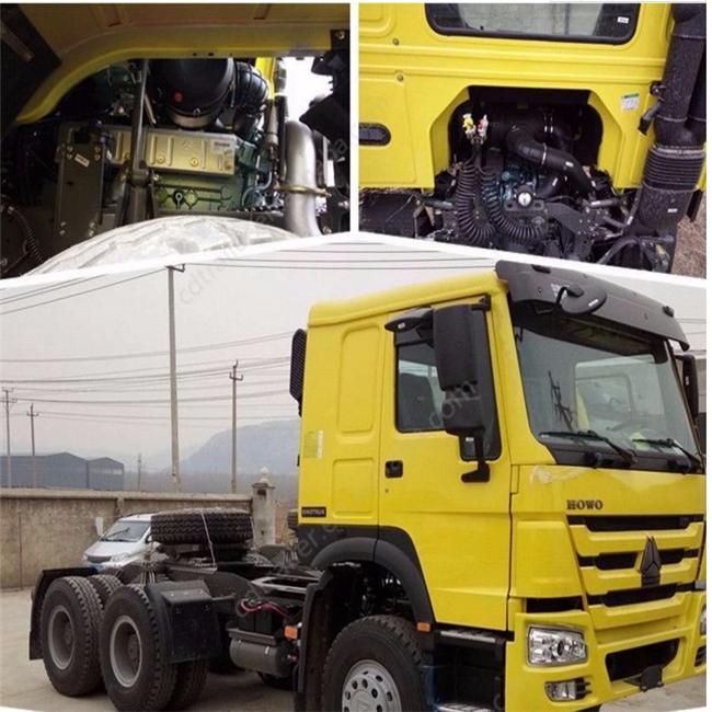Used Sinotruk Howo Truck 6x4 Tractor Head - Buy Used Howo