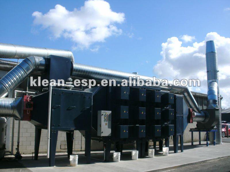 Esp (electrostatic Precipitator) Industrial Air Filter For Oil ...