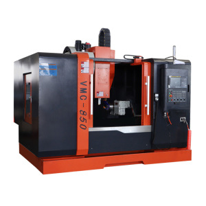 High Precision VMC850 CNC Vertical Milling Machine China 4-Axis Machining Center
