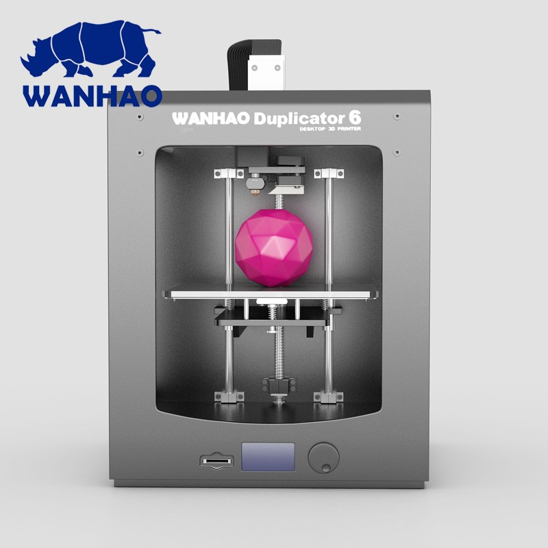 2016 newest printer! High precision fast printing speed 3d printer WANHAO Duplicator 6 send to public sale