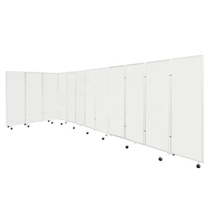 school home office mobile accordion partition screen board
