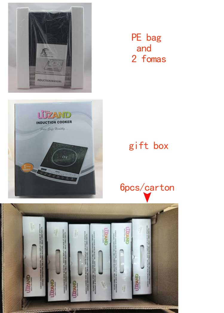 Electromagnetic Household Manual Ikon Induction Stove