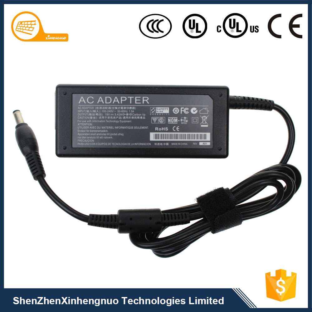 Shenzhen Supplier 90W 15V 6A Cheap Laptop Charger for Toshiba with Optional Plug