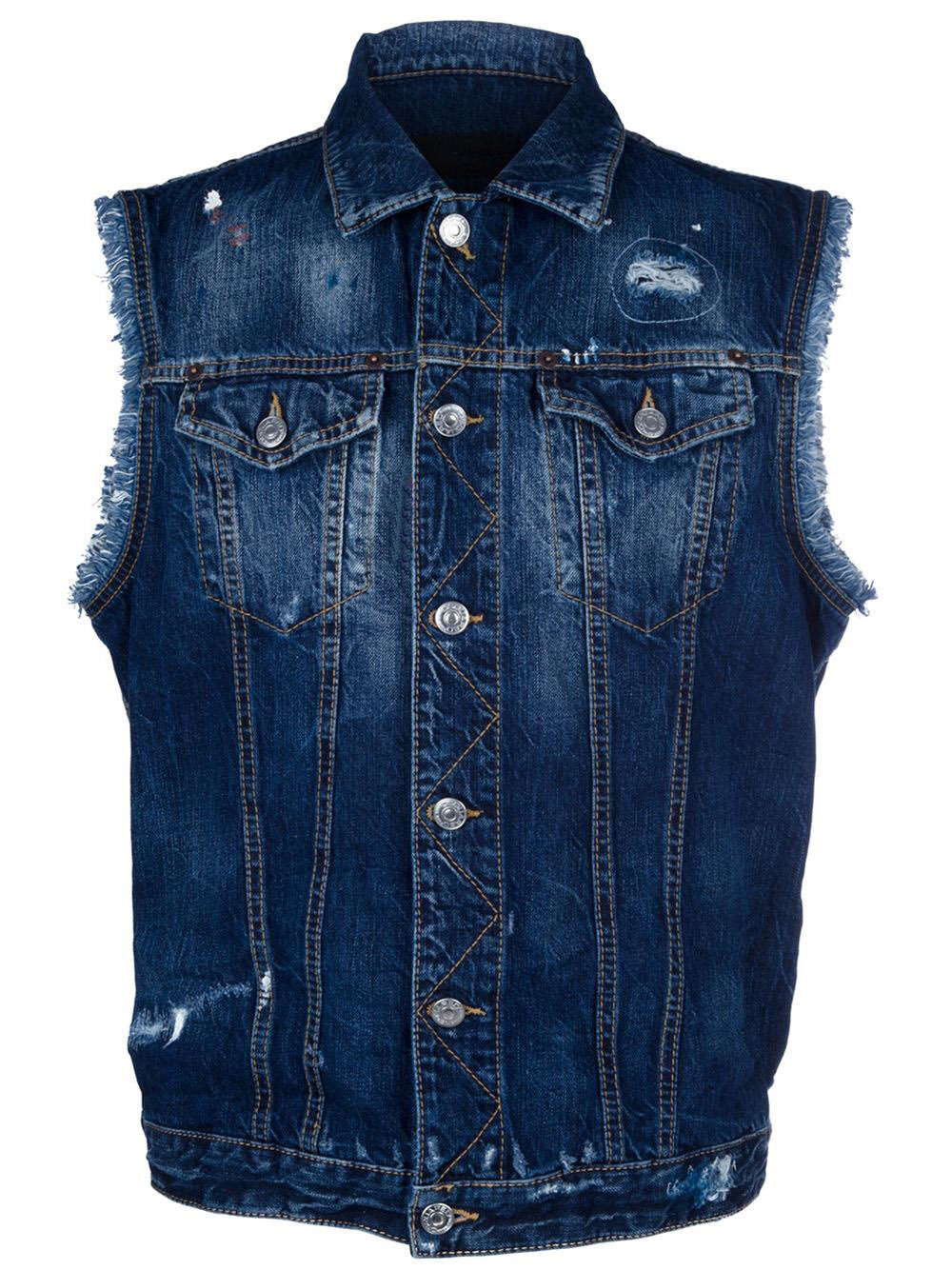 Wholesale No Sleeve Denim Jacket Men - Buy No Sleeve Denim Jacket