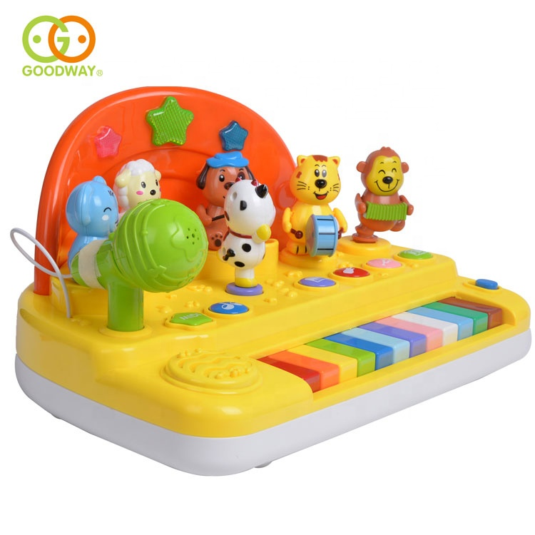 Funny Cartoon Design Kids Music Learning Piano Keyboard Toy