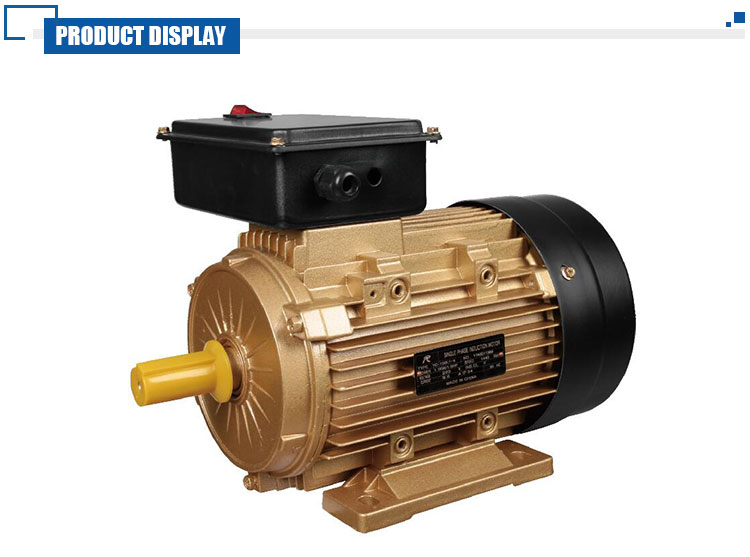 Energy Saving Low Temperature Rise Single Phase Electric Motor