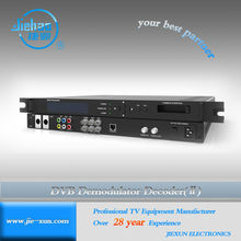 IPTV streaming satellite receiver with AV ASI output interface support MPEG-2 and MPEG-4 ASI descambling