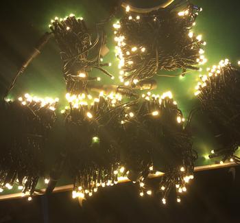 High Quality Ac120v Us Plug Thick Wire 10m Christmas Lights Led String Light Holiday