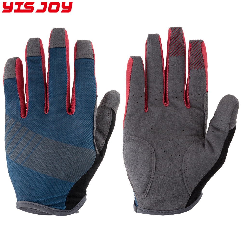2018 Synthetic leather Sports Gloves Motorbike gloves Motorcycle Racing Gloves Men