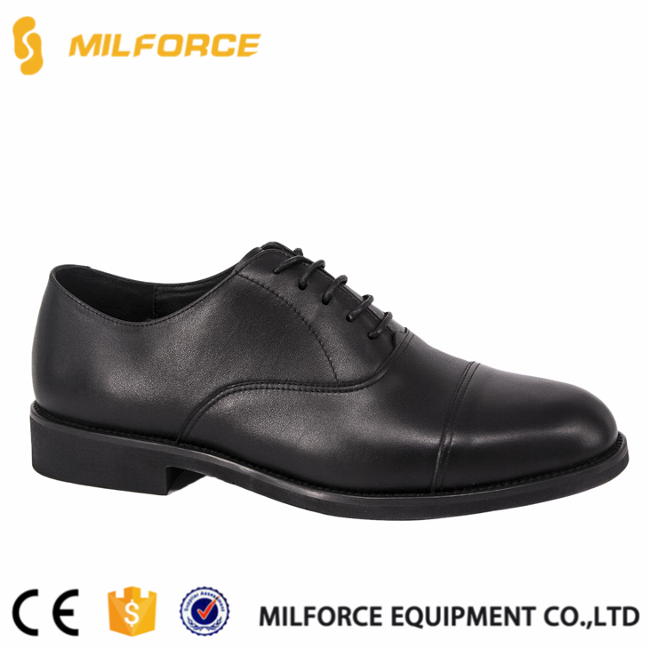 MILFROCE-New design patent leather police officer dress oxford leather shoes