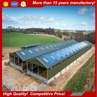 Pre engineering Horse Barns Design Steel Structure Cow Farm Buildings