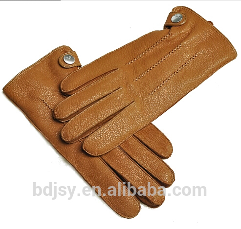 fashion simple deerskin outdoor leather men glove leather glove manufacture