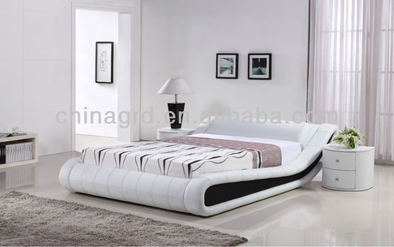 2015 new design modern faux leather wool bed sheets g997 - Chambre A Coucher Moderne 2015