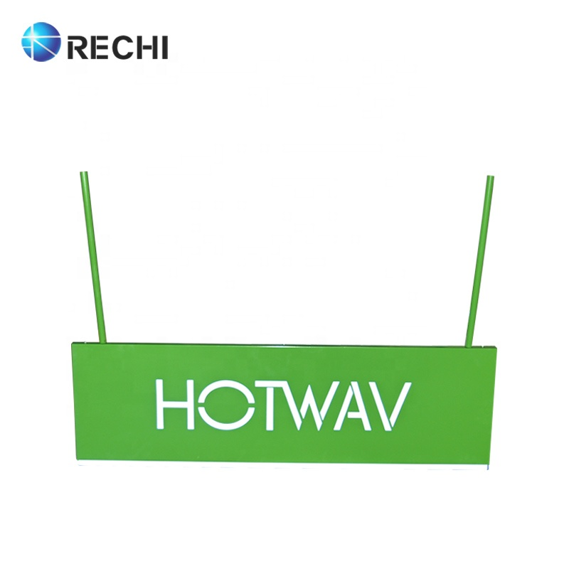 RECHI Custom Made Retail Store Indoor or Outdoor Hanging Illuminated Signage Letters Advertising Store Lighting Box