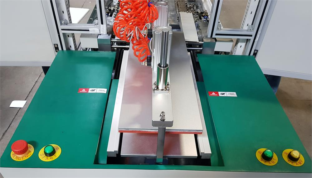 Edge Ironing Trimming and Folding Machine Three-In-One for Pouch Cell Case Battery Production