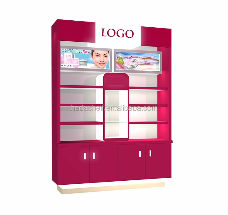 Export Quality Promotions Cosmetic Display Showcase