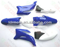 YAMAHA TTR110 TTR 110 PLASTIC FENDER COVER KIT BLUE PITBIKE DIRT BIKE