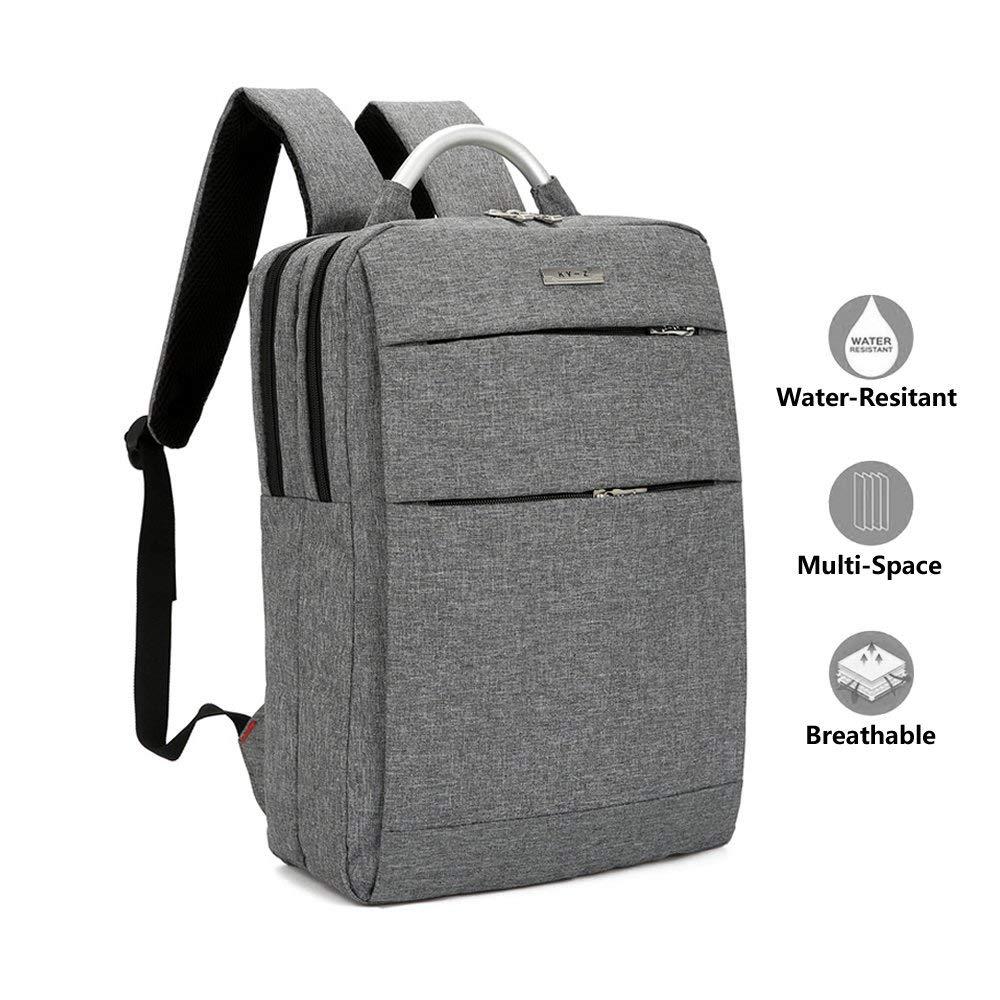 Get Quotations · Laptop Backpack, Lightweight Slim Business Computer  Backpacks, Water Resistant Laptops Knapsacks Daypacks with d6363bb393