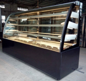 Hot selling CE approval Bakery Cake showcase refrigerator / Cake display