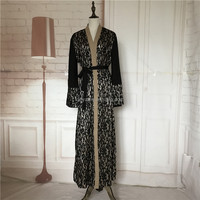 Latest islamic women clothing kaftan muslim abaya new model open front abaya design in dubai