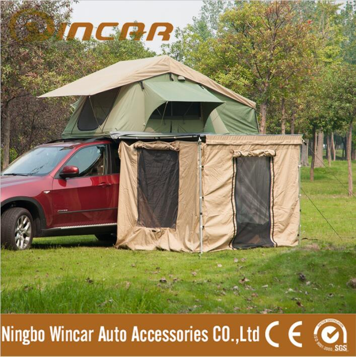 pliable voiture ripstop campeur remorque de voiture toit tentes camping roof top tente de wincar. Black Bedroom Furniture Sets. Home Design Ideas