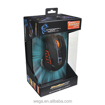 MMO 17 programmable buttons lol led weight added adjust blue optical wired gaming mouse
