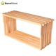 Custom size high quality pine wooden honey bee deep hive frames