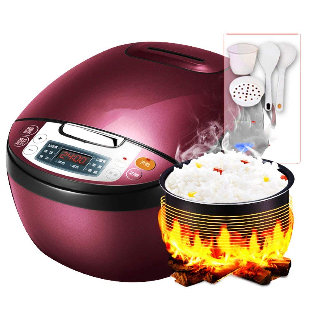 DHG Rice cooker, 4L household smart rice cooker, automatic large-capacity rice cooker, high pressure cooker 1-2-3 rice cooker,As show,One size
