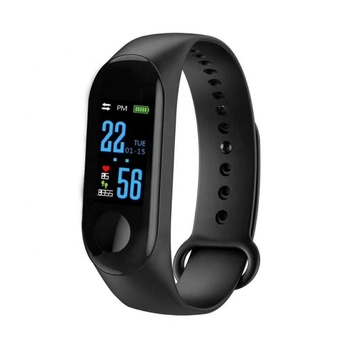 2018 Hot Fitness Tracker 0.96 TFT Color Screen M3 Sport Smart Wristband Waterproof Bracelet With Blood Pressure And Heart Rate