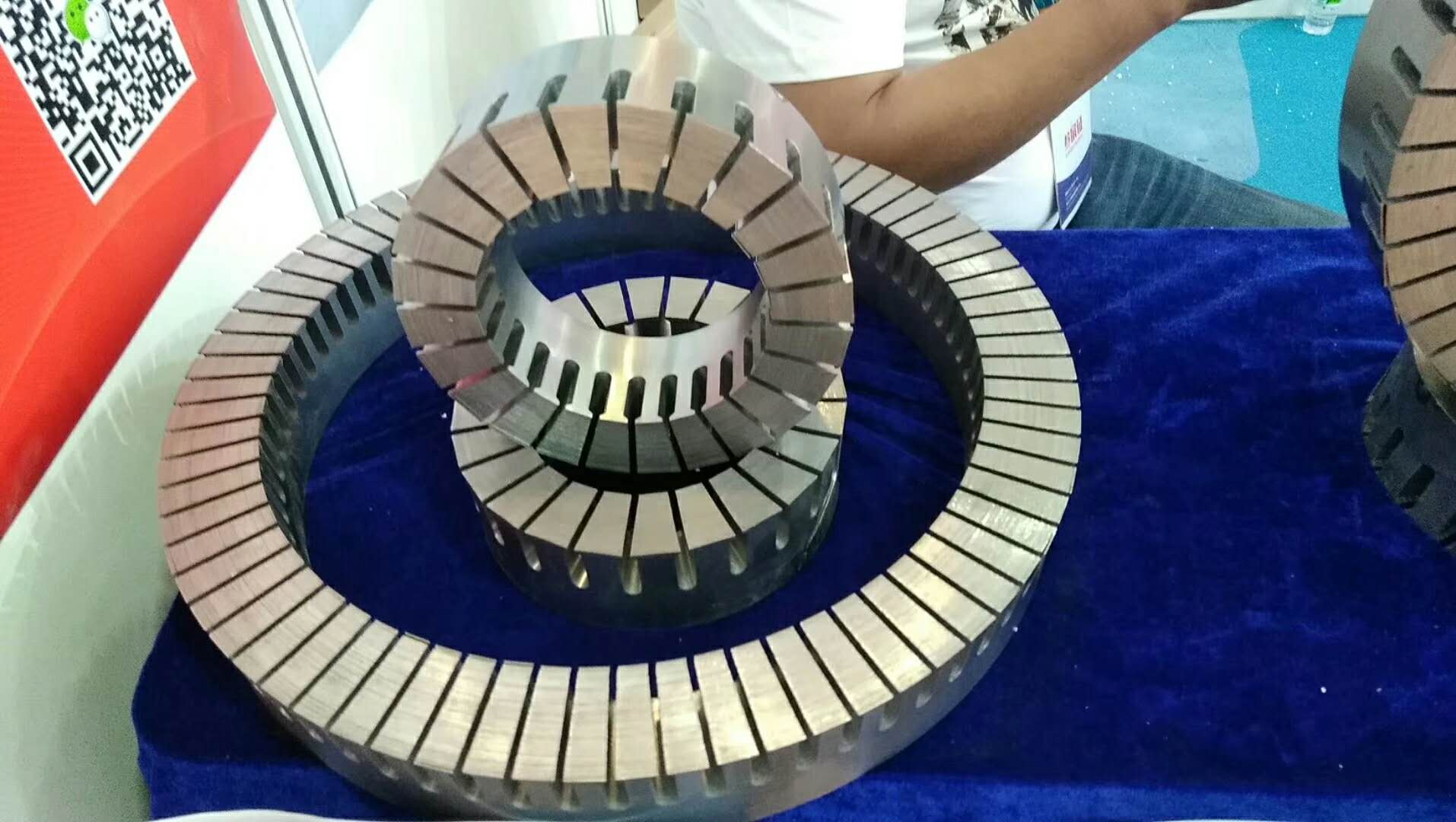 Axial Flux Stator Stack Lamination For Axial Flux Motor And Disk Motor -  Buy Axial Flux Stator,Disk Motor Stator,Axial Flux Motor Stator Product on