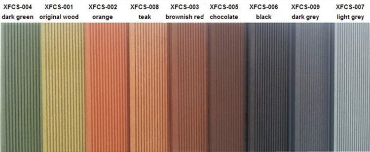 Wood Plastic Composite Wall Cladding Timber Like Facade Boards Wpc Outdoor Cladding For Exterior