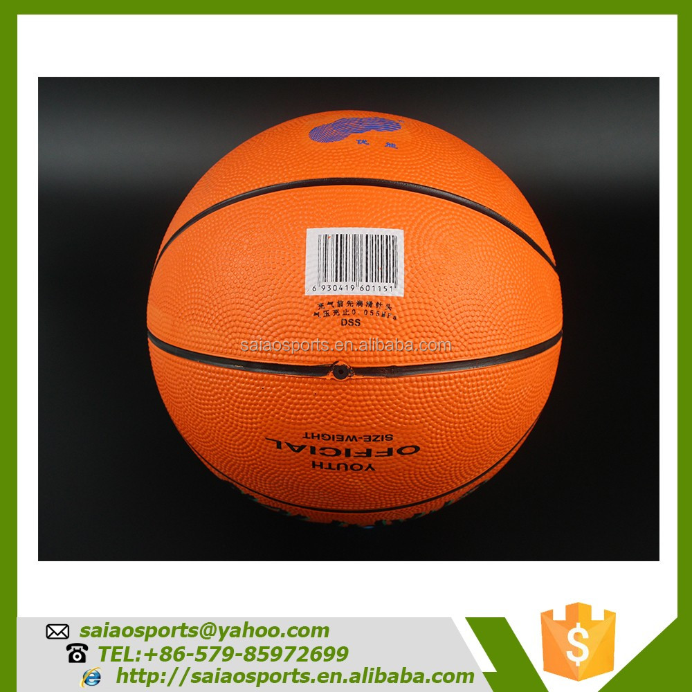 cheap rubber size 7 balls basketball teams basketball cheap
