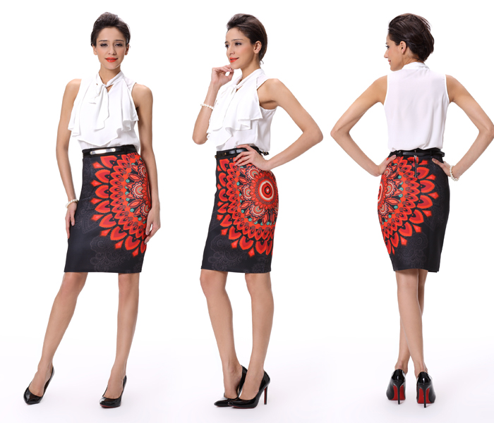 Formal Skirts Designs Over Knee Length Pencil Skirts For Office ...