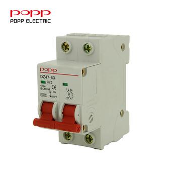 Huishouden 2 P Elektrische Symbool Mini Circuit Breaker Mcb Mccb