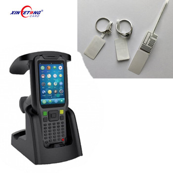 Handheld Long Range UHF RFID Reader For Jewelry Store Management