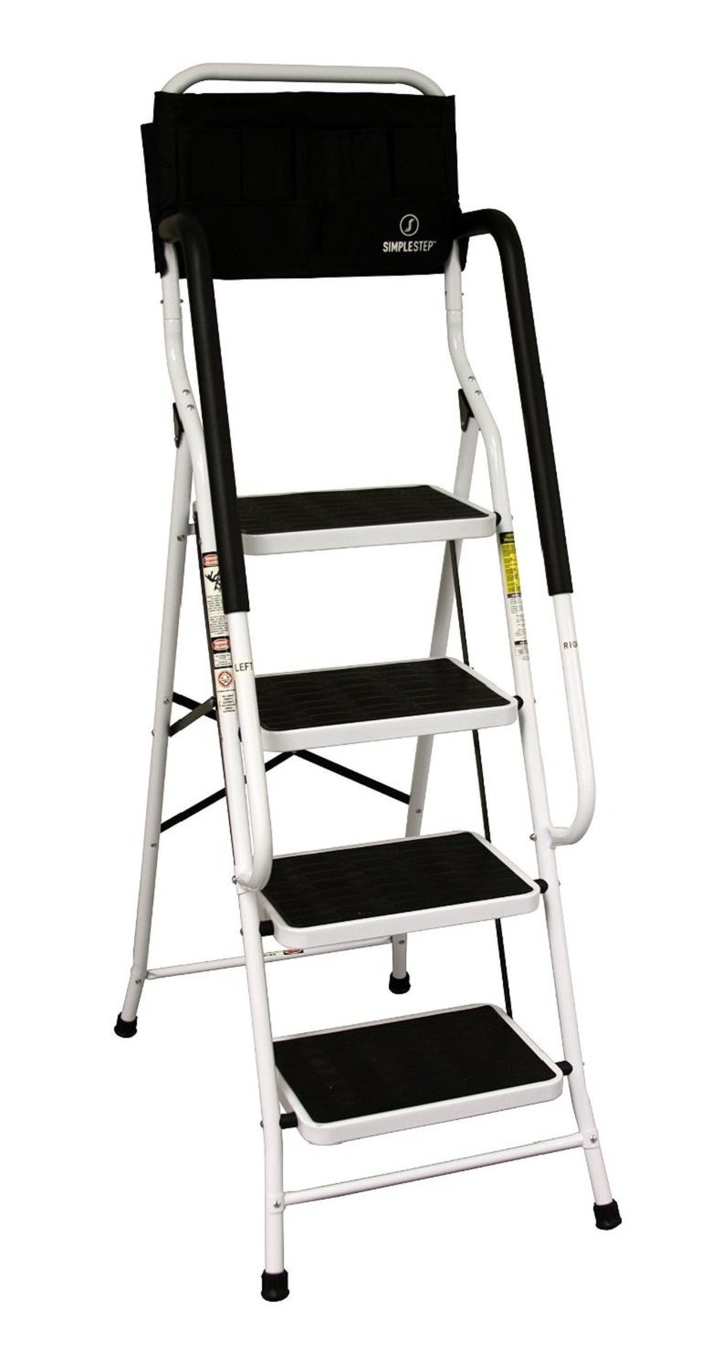 Buy Easylife Safety Four Step Ladder With Support Rails In