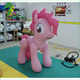 2016 Unique Design Cute Inflatable Pink Horse/ Inflatable Cartoon Characte For Kids