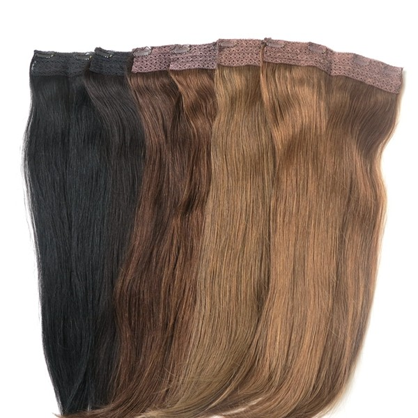 22inch 80g one piece 8 inch clip in human hair extensions quad 22inch 80g one piece 8 inch clip in human hair extensions quad weft clip in pmusecretfo Choice Image