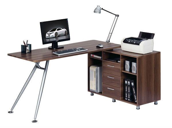 Nuevo diseño de madera IKEA muebles de oficina en casa escritorio ...