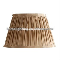 SC-8586 Pinched Pleat Silk bulk lamp shade wholesale