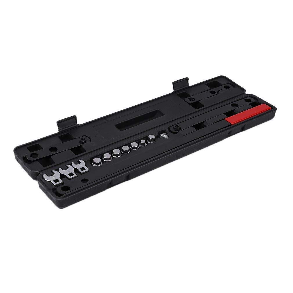 Wrench Serpentine Belt Tool Kit 16 PCS Ratcheting Wrench Serpentine Belt Tool Ki