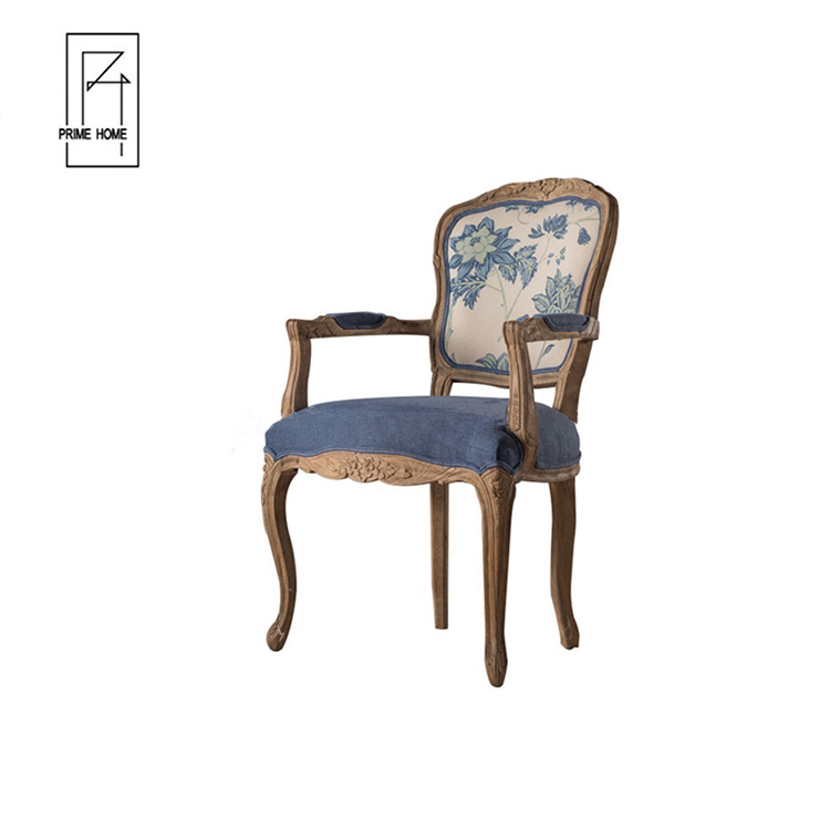 Wholesale Teak Wood Carving Design Restaurant Dining Chairs