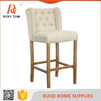 Antique Baby Wooden High Bar Chair Make Up High Chair