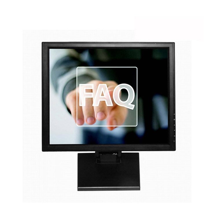 OEM ODM LCD Panel 1503 m 1703 m Resistive Type Touch Screen Panel Monitor
