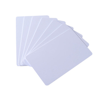 High Quality White Plastic Printable Inkjet Lamination Blank Thermal PVC Card available
