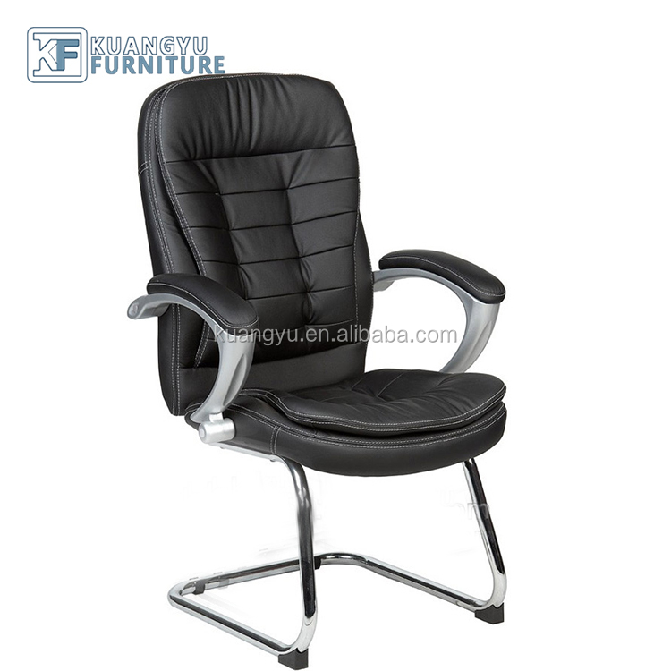 PU leather visitor chair,modern visitor chair,modern classic leather chairs